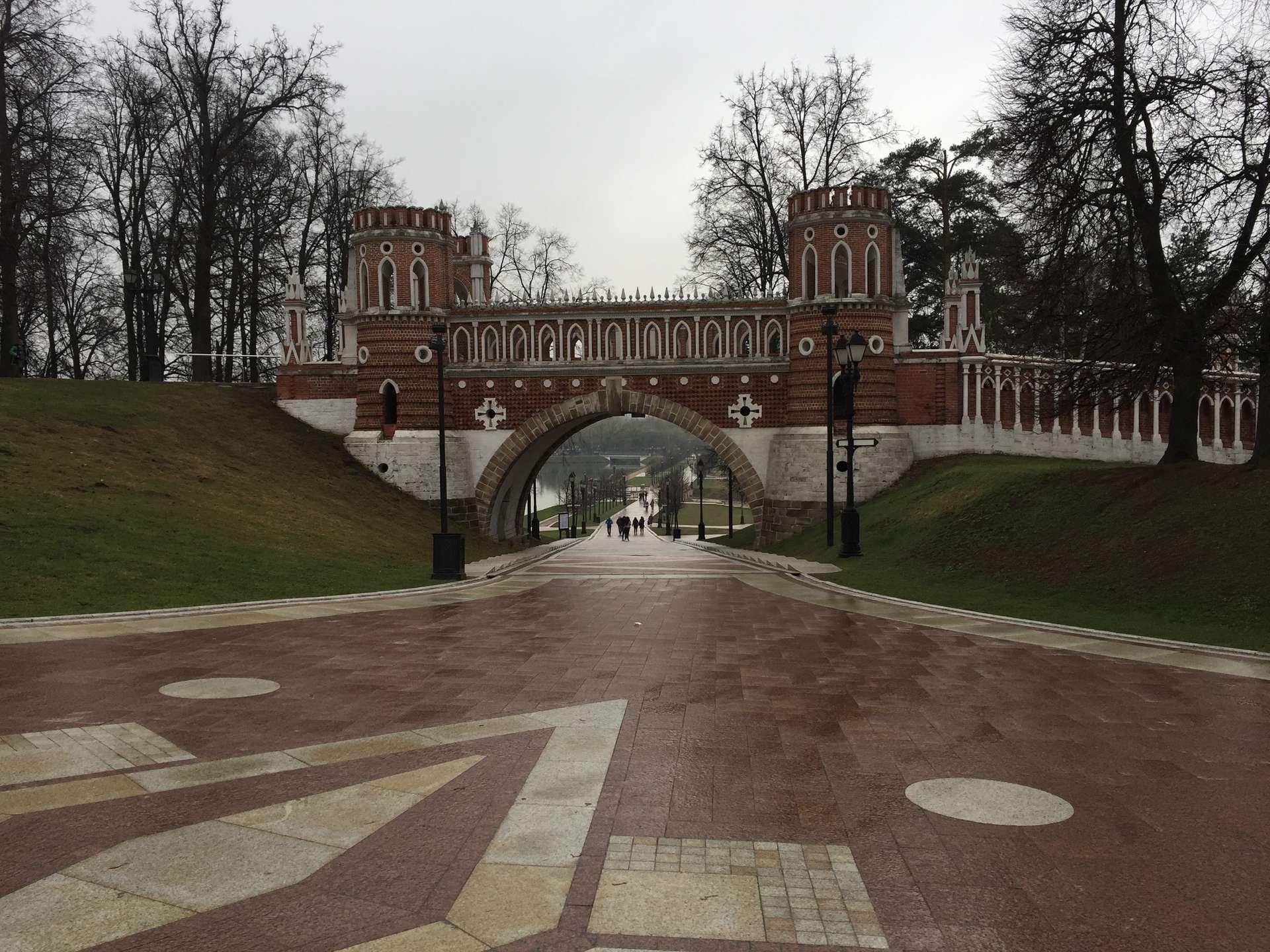 Rusland, Moskou, Tsaritsyno Park
