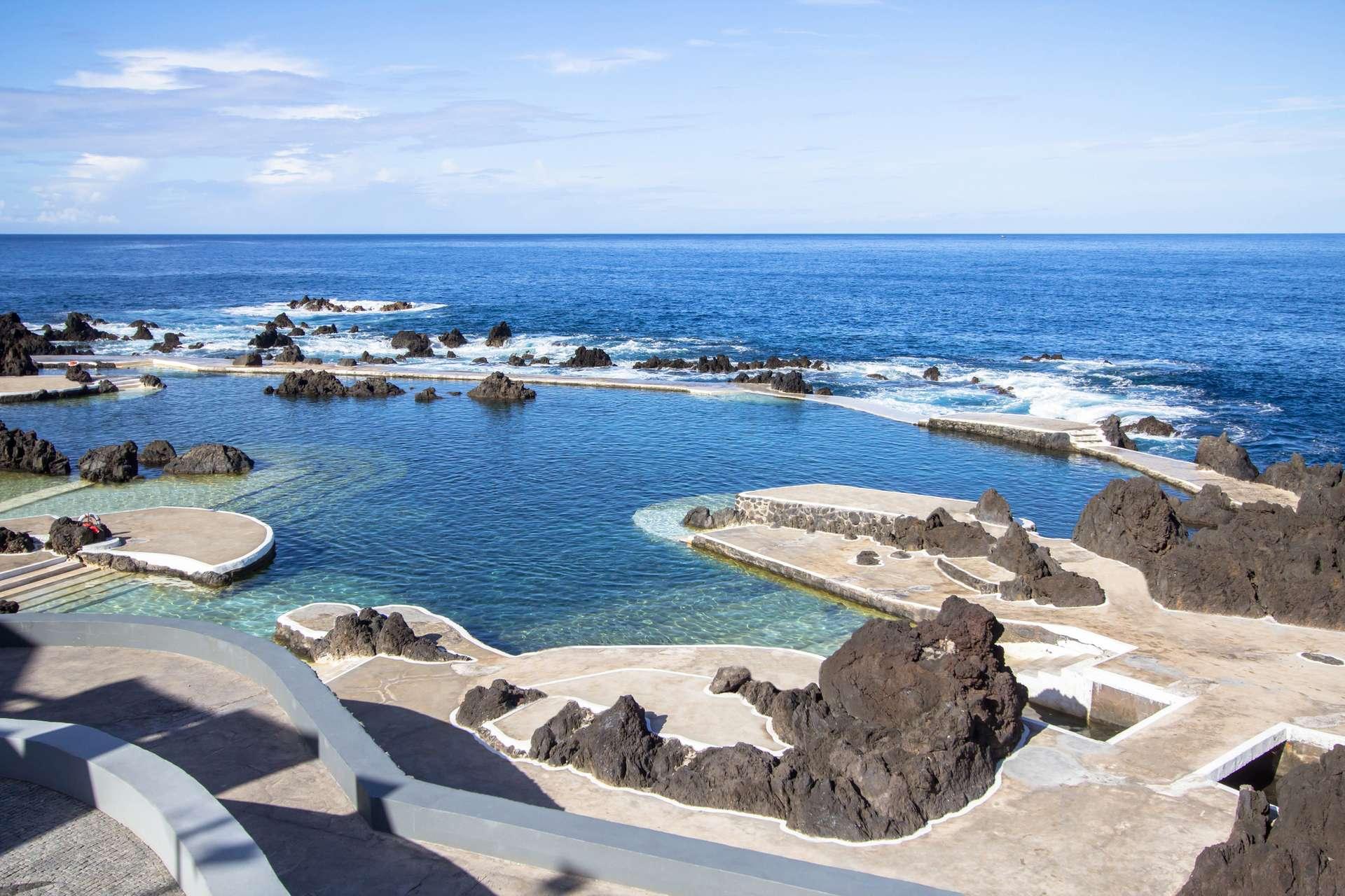 Natuurlijke baden van Porto Moniz