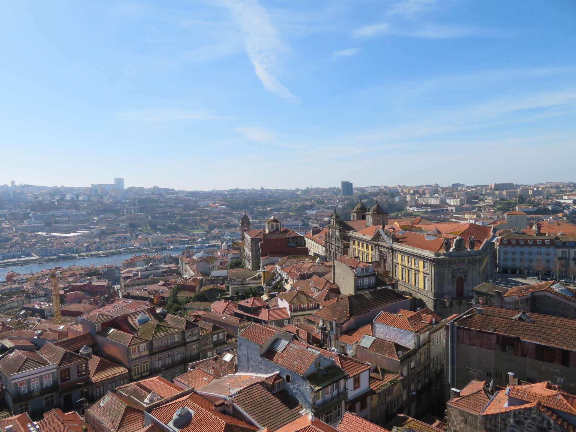 Uitzicht over Porto, Portugal