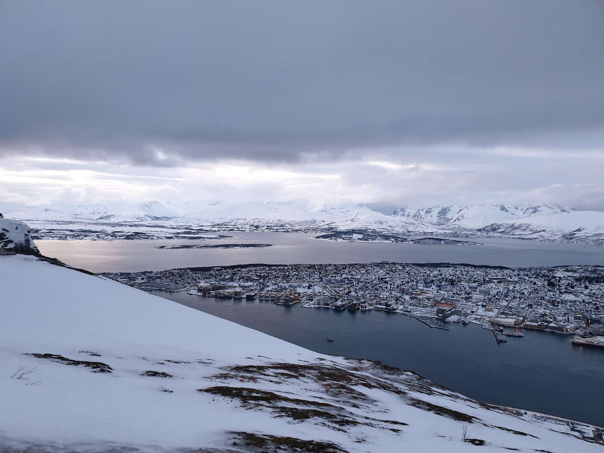 Noorwegen, uitzicht Tromsø