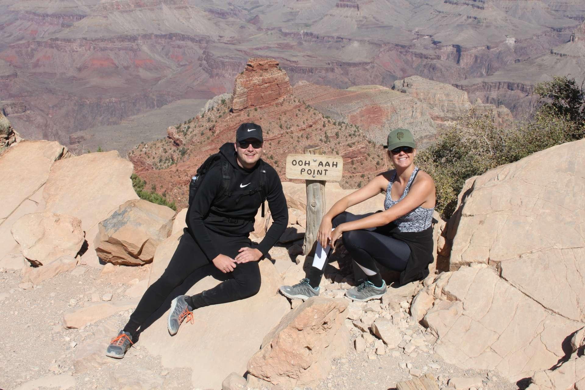 Amerika, Grand Canyon, Ooh Aah point