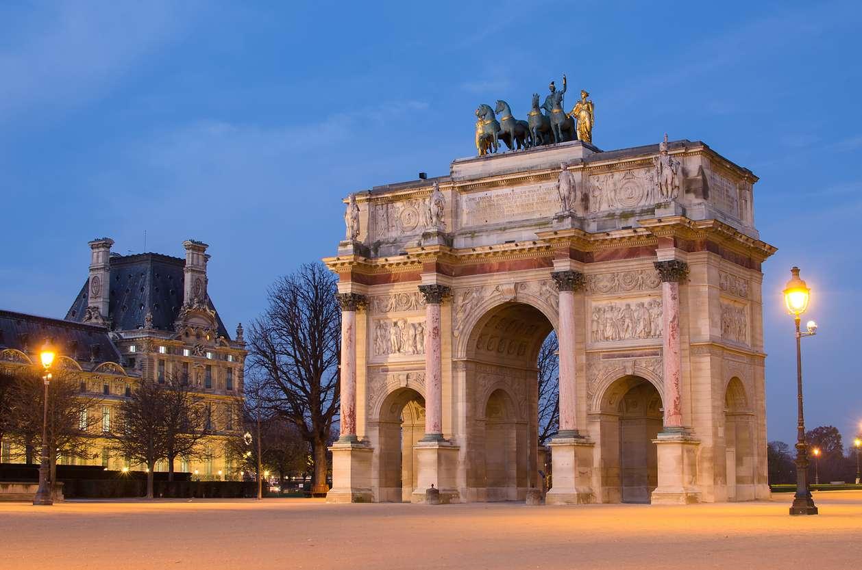 Frankrijk, Parijs, Arc de Triomphe