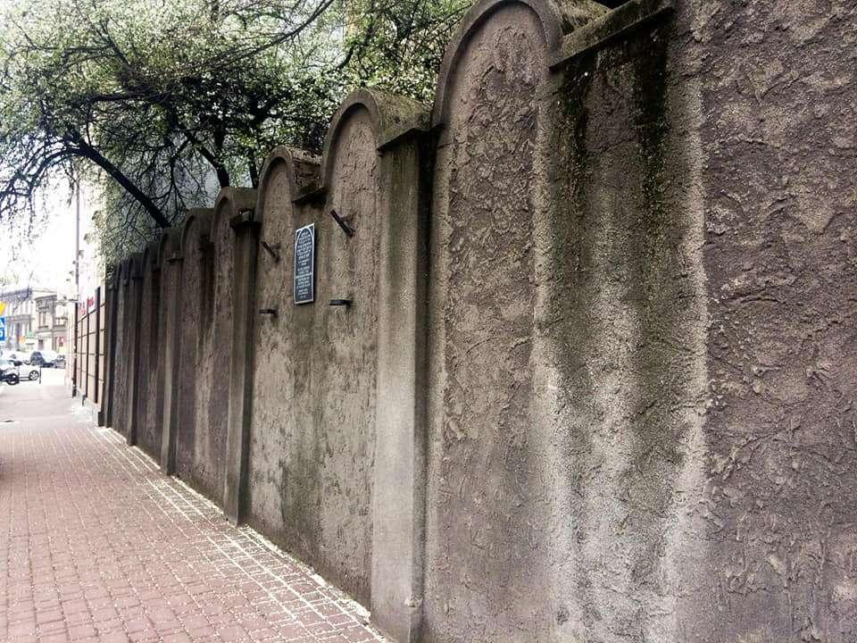 Ghetto muur Krakau