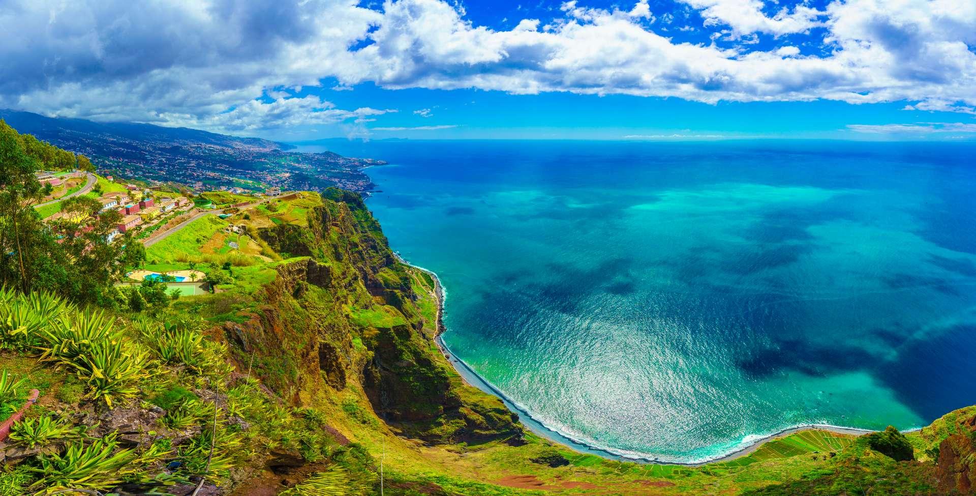 Madeira Portugal Cabo Girao view