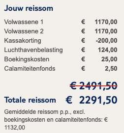 10 dagen naar Indonesië voor €1132