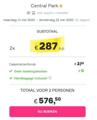 11 dagen Ibiza €287