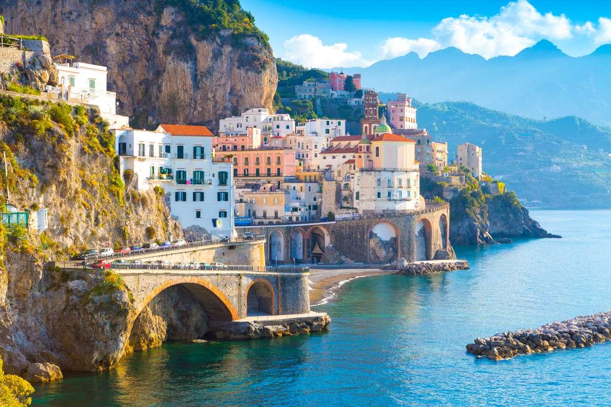 Italie - Amalfikust -  goedkope rondreis