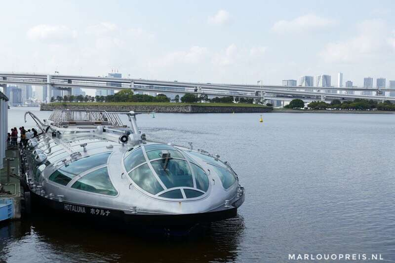 Rondvaartboot Tokyo