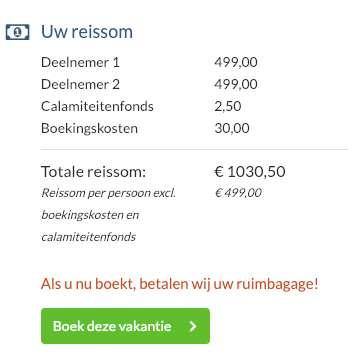 15 dagen Corfu = €499
