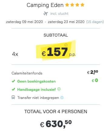 15 dagen Gardameer €157
