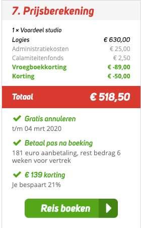 15 dagen Lesbos = €246