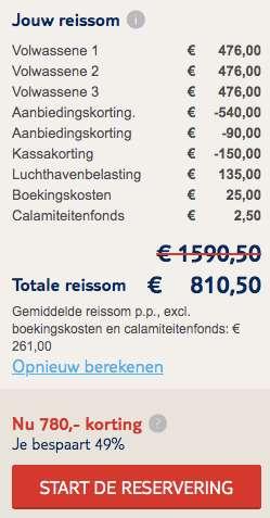 15 dagen Mallorca €261