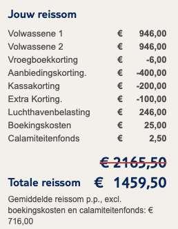 17 dagen Mauritius voor €719