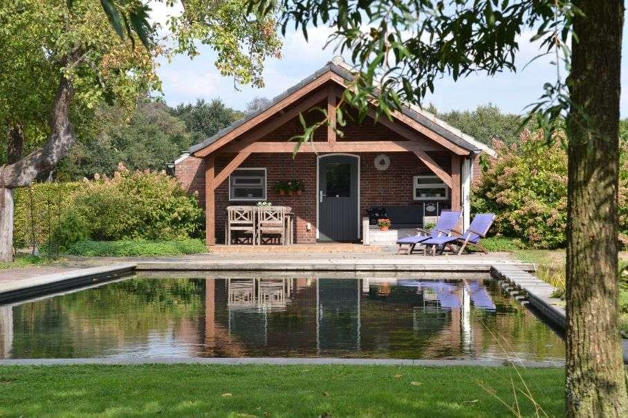 Luxe vakantiehuis Nederland zwembad