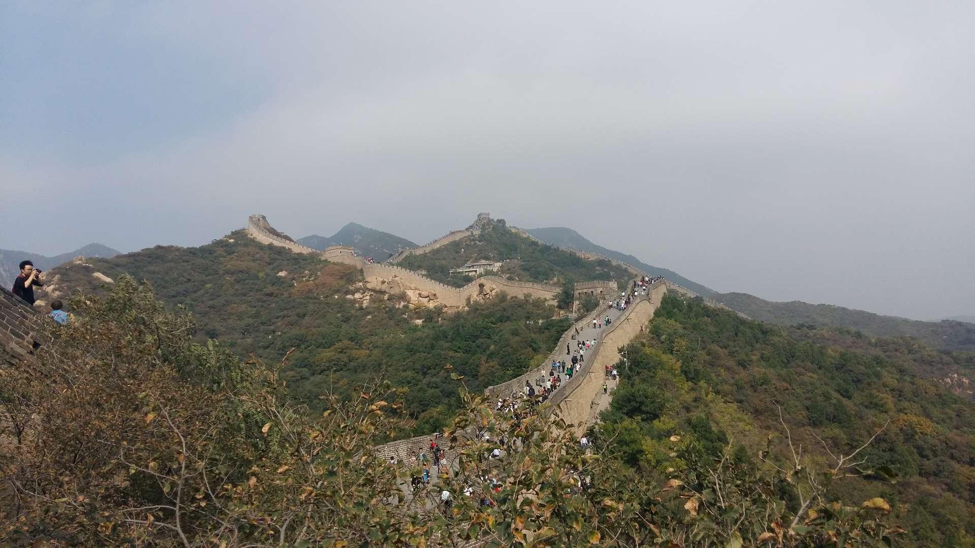 China, Beijing, Chinese Muur 1
