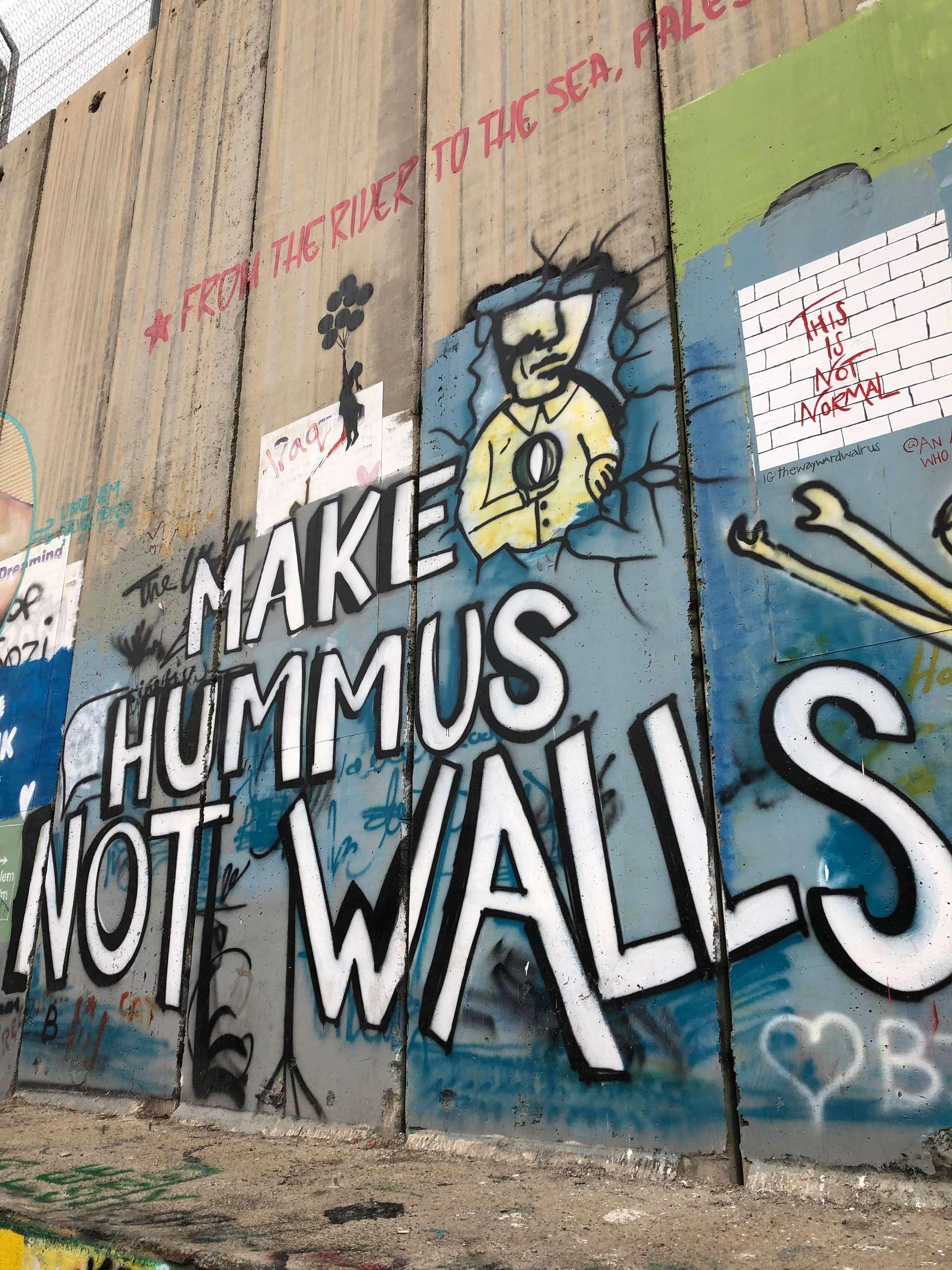Israël, Bethlehem, graffiti