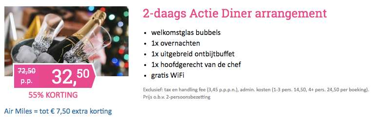 2 dagen Limburg €32,50