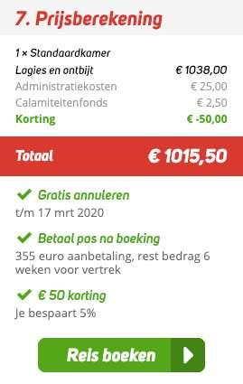 2 weken = €494