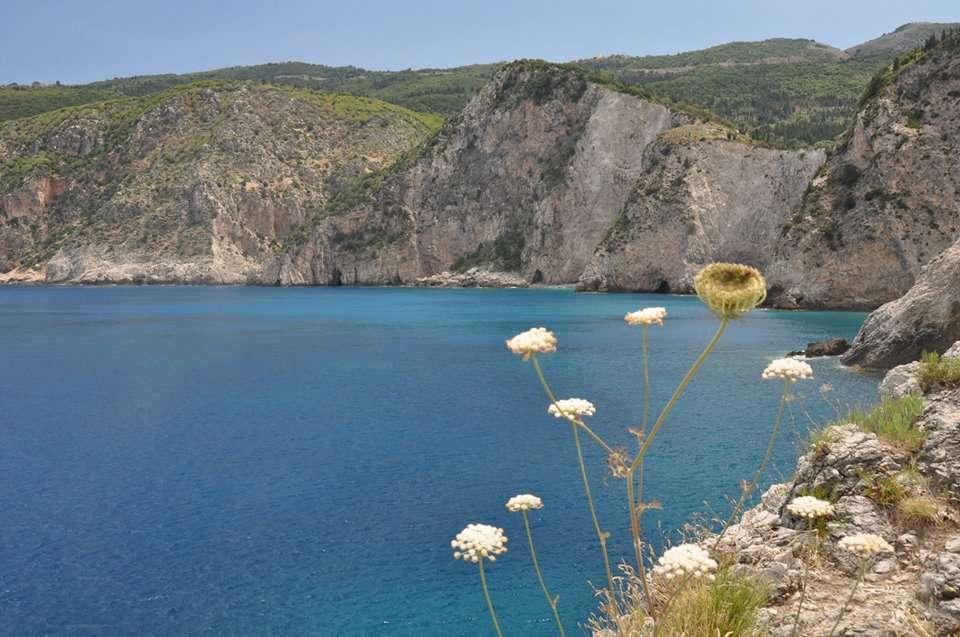 Kliffen Assos 'charmante dorpjes'