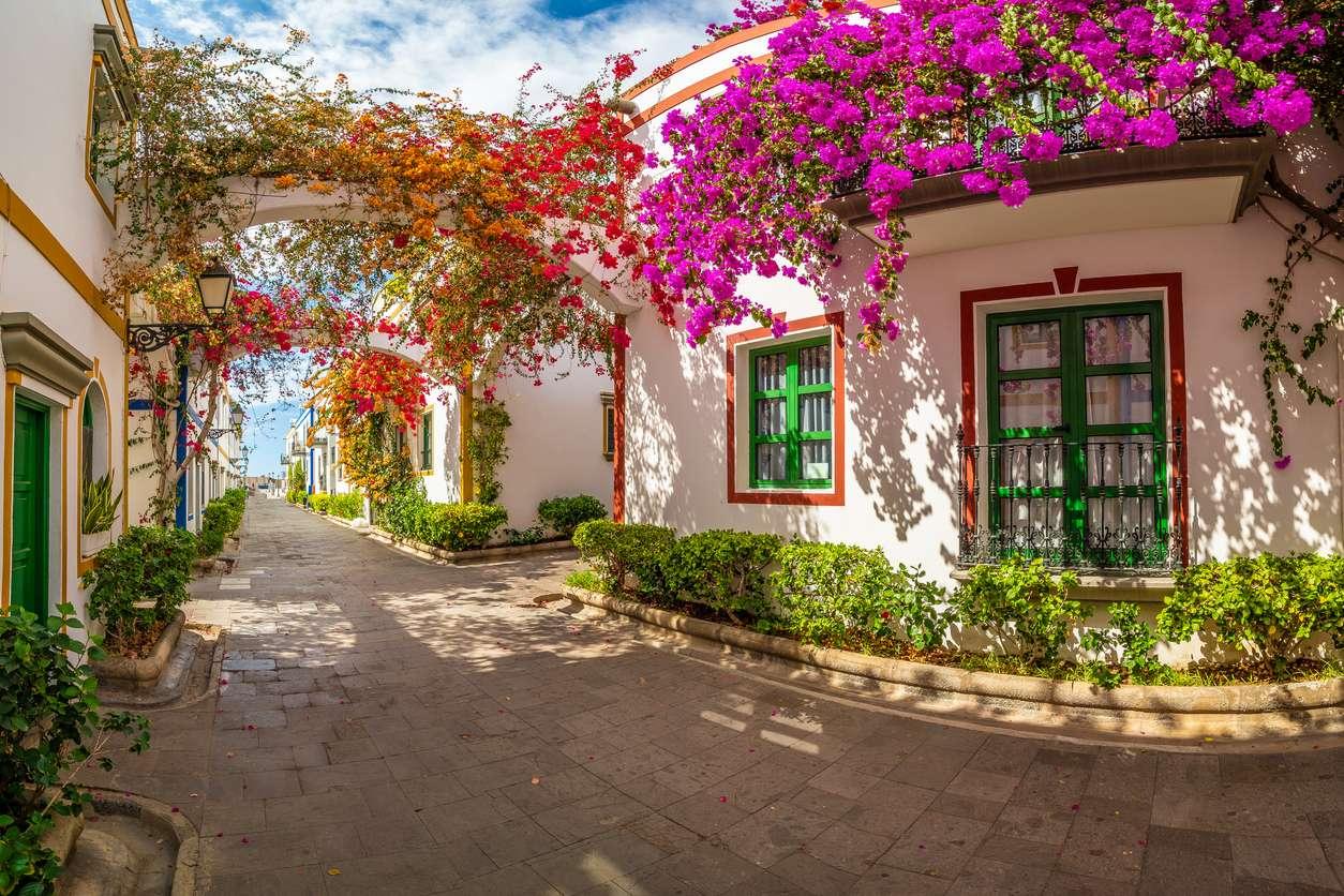 Spanje, Gran Canaria, straatje