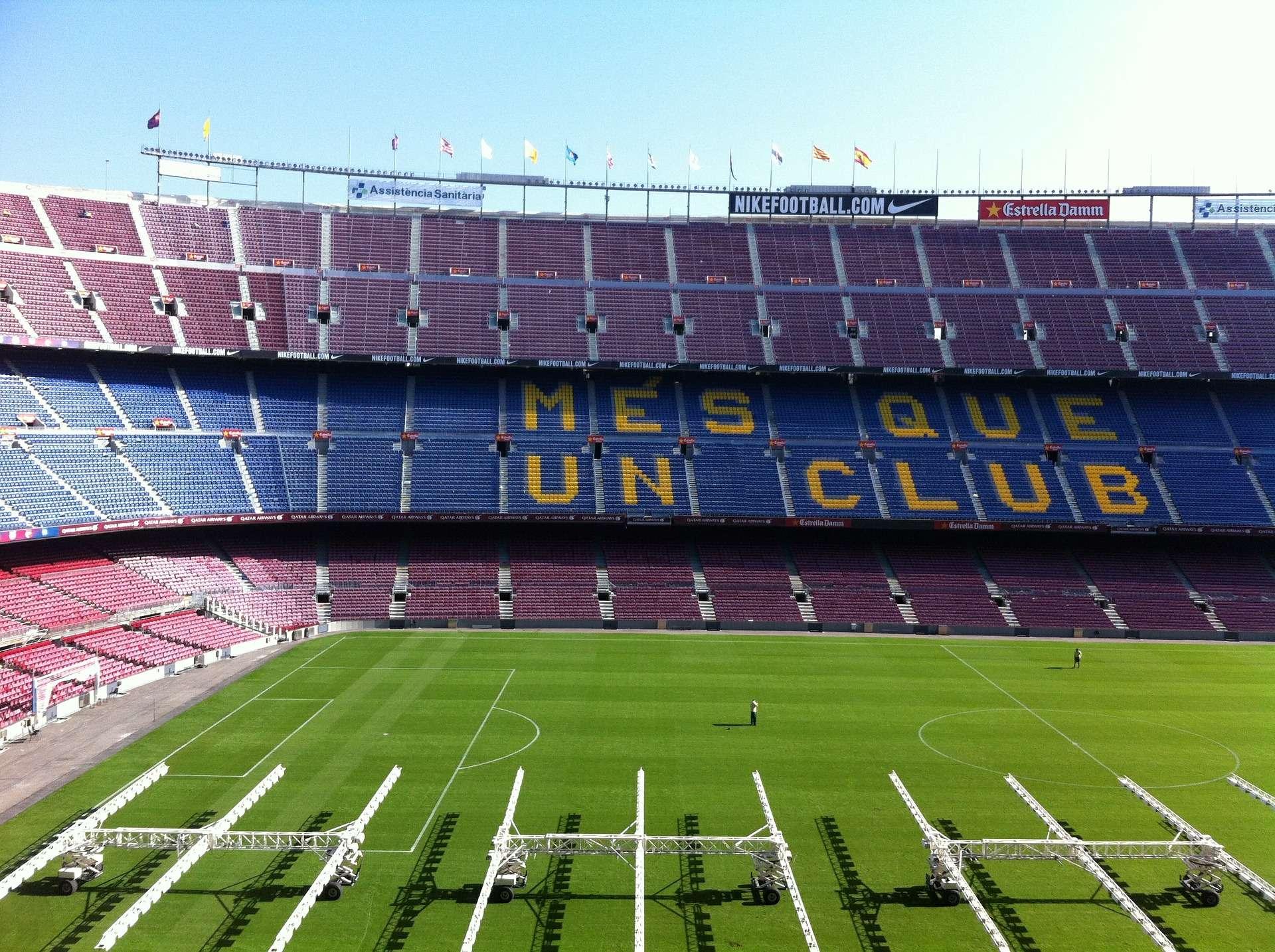 Spanje, Barcelona, Camp Nou