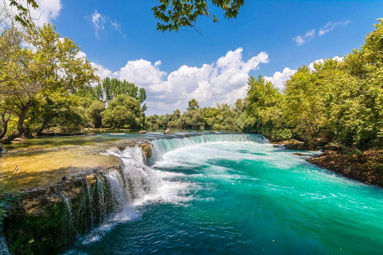 Turkije Side Manvgat waterval