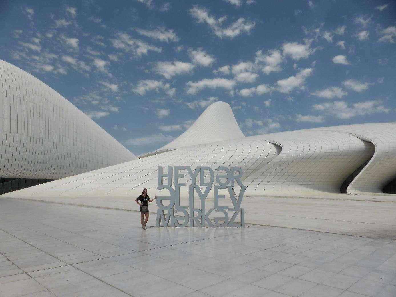 Azerbeiddzjan, Baku, Heydar Aliyev Center
