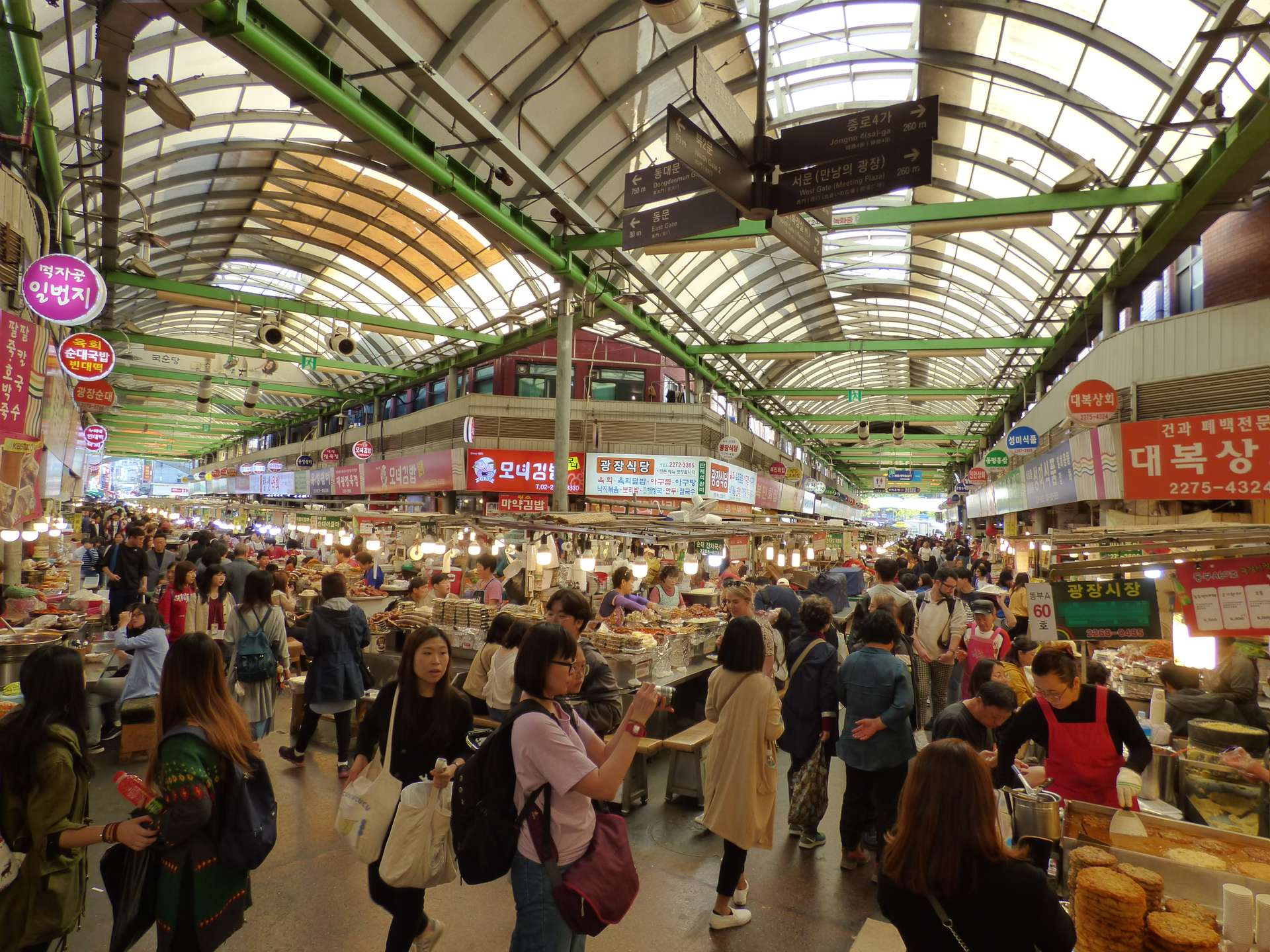 Foodmarket in seoul zuid korea
