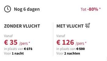 3 dagen Barcelona voor maar €124