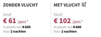3 dagen Krakau €102
