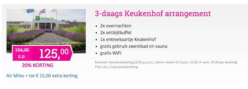 3 dagen Leiden = €125