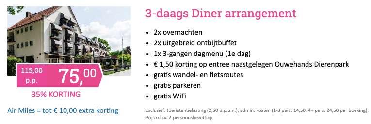3 dagen naar Utrecht voor €75