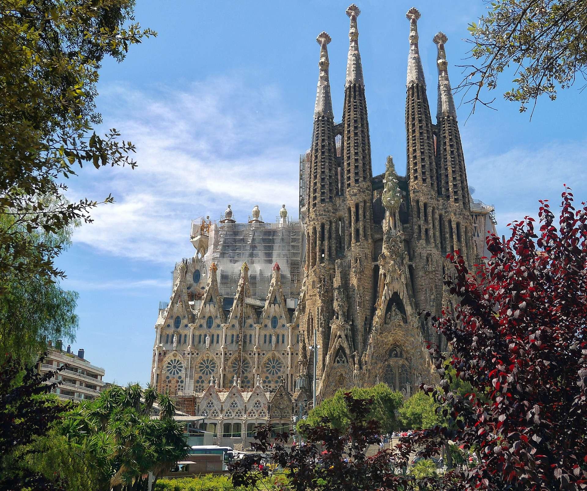Spanje, Barcelona, Sagrada Familia