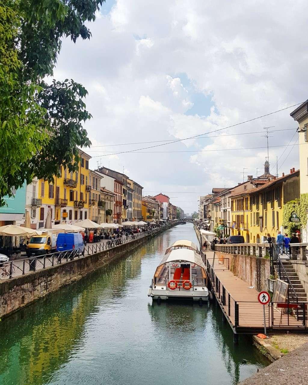 Italië, Milaan, Navigli