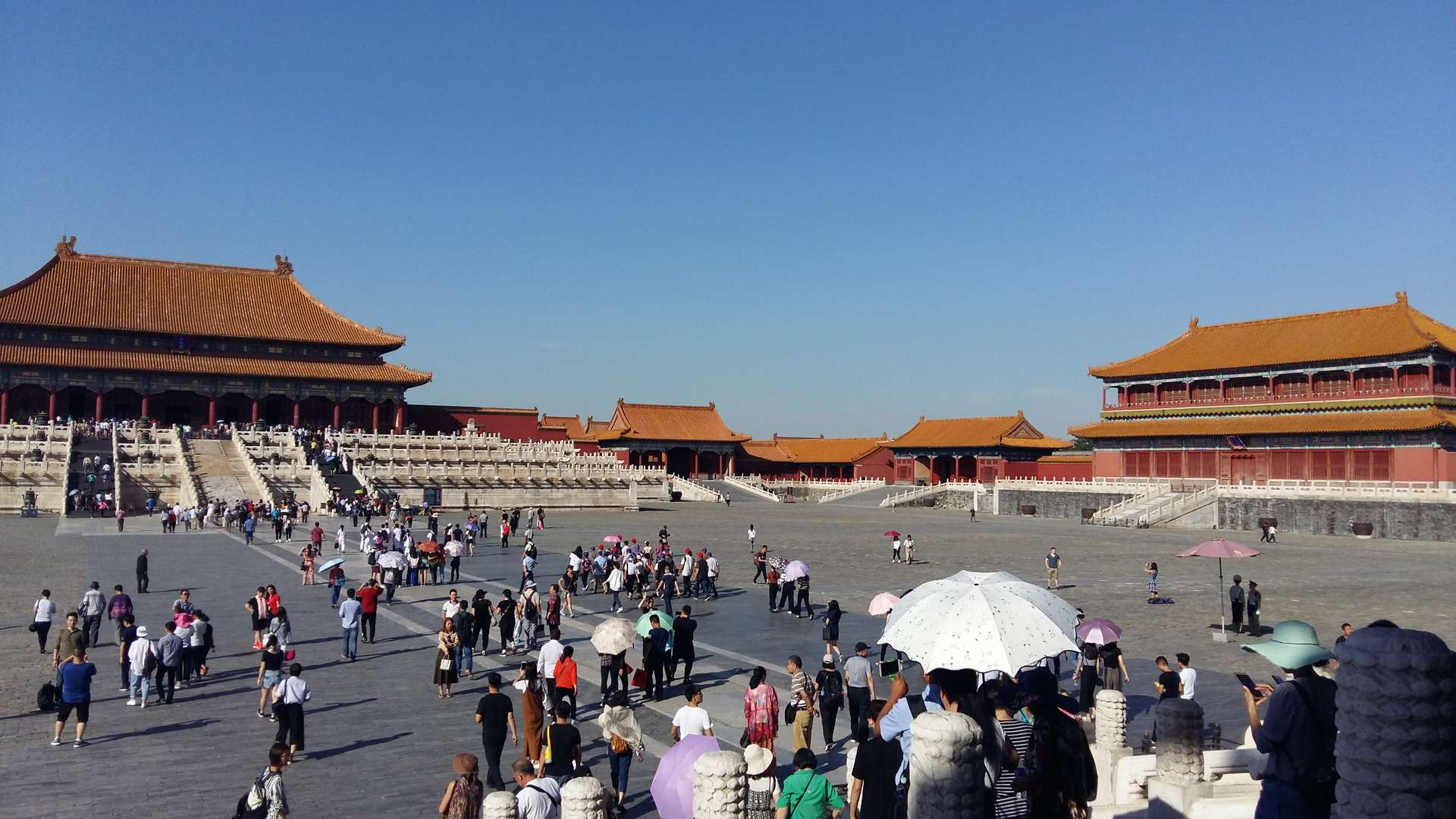 China, Beijing, Plein Verboden Stad