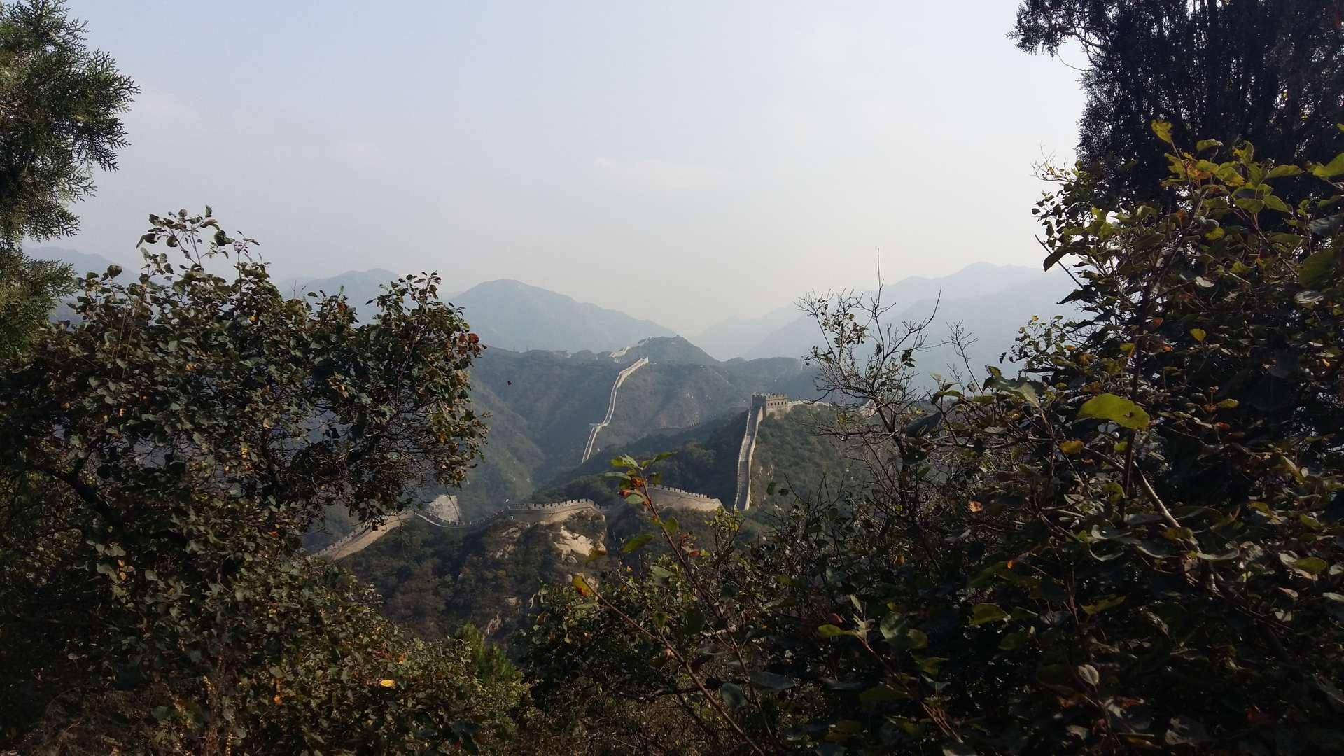 China, Beijing, Chinese Muur 2