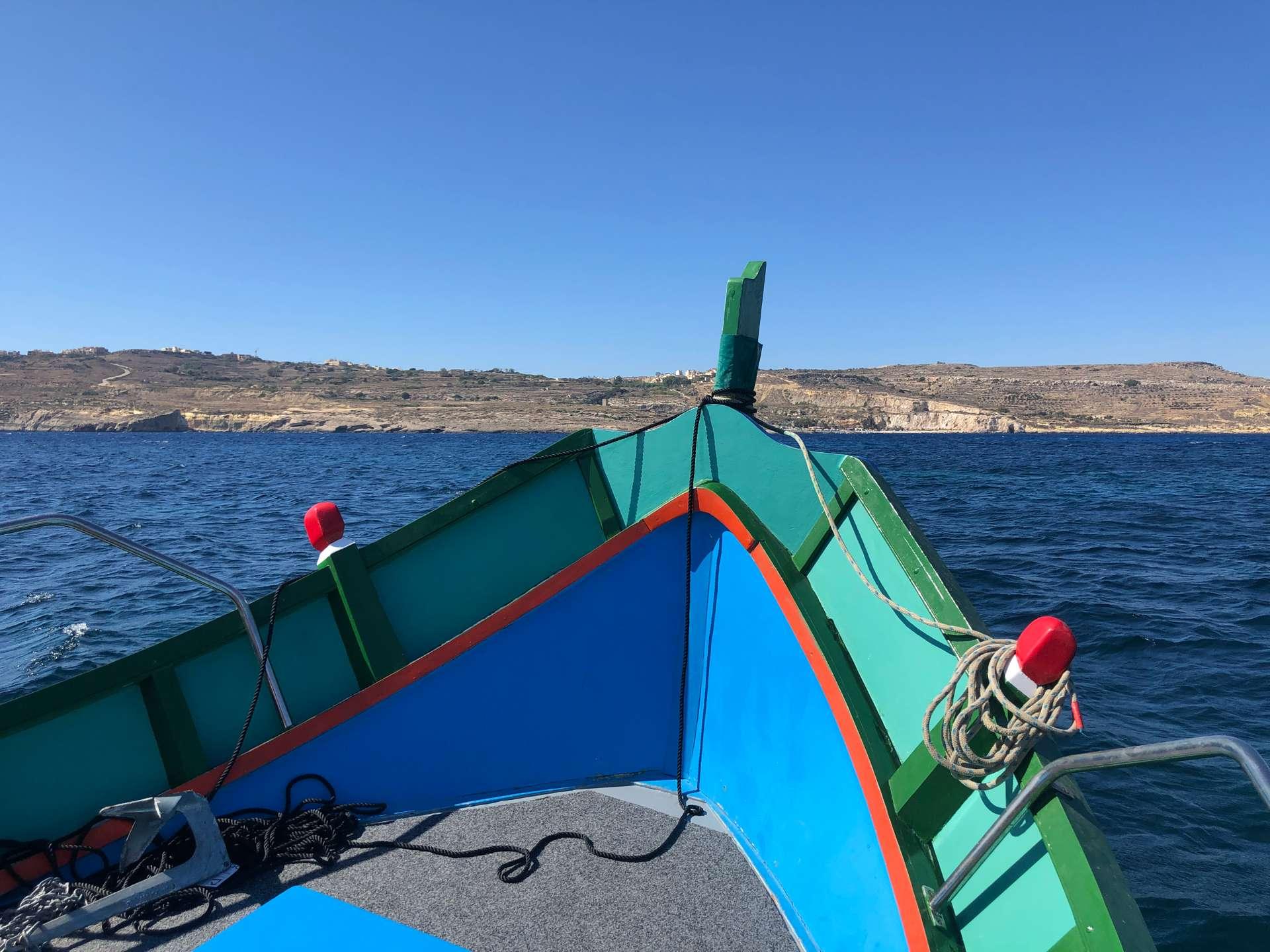 Gozo snorkelboot