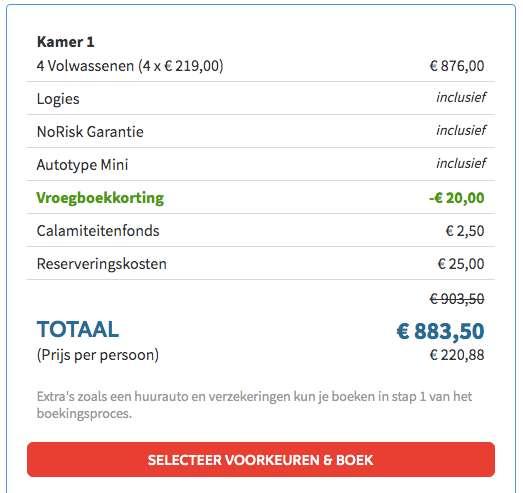 4 dagen Algarve voor maar €214