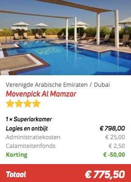 4 dagen Dubai €374