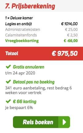 4 dagen Dubai €474