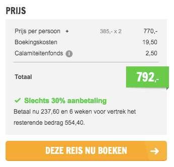 4 dagen Ijsland €385