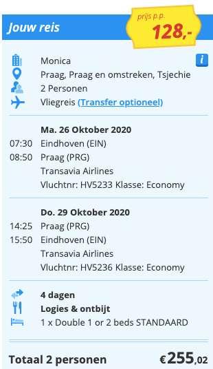 4 dagen naar Praag voor €128