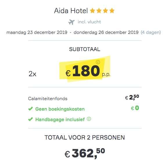 4 dagen Praag €180