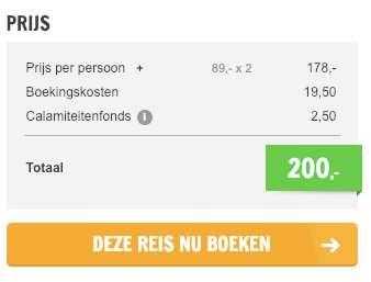 4 dagen Praag = €89