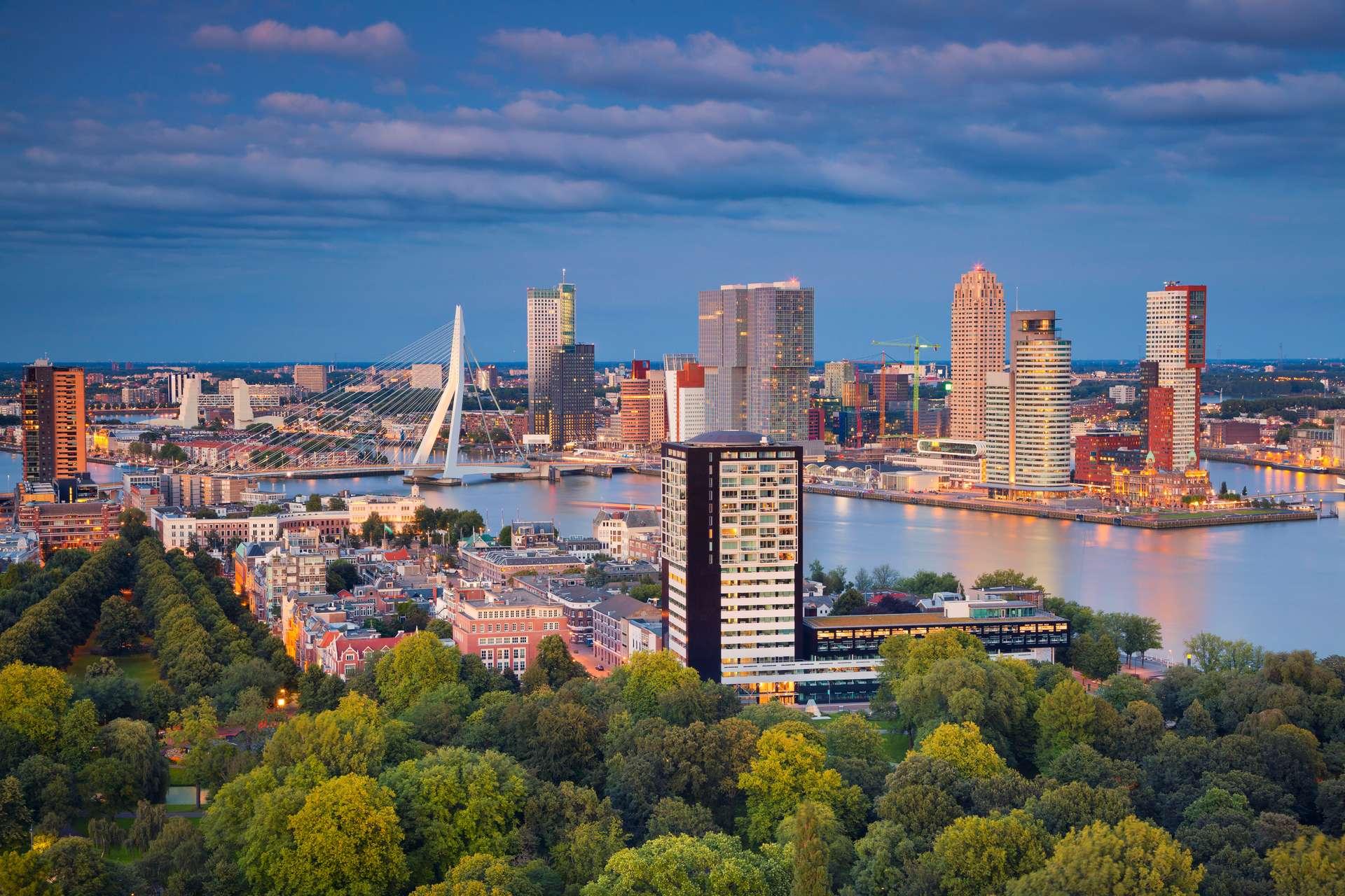 Goedkope stedentrip Rotterdam
