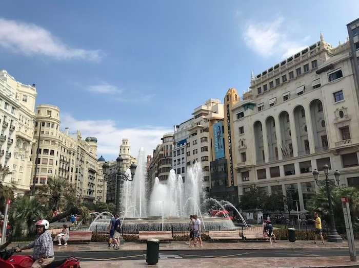 Valencia straten centrum