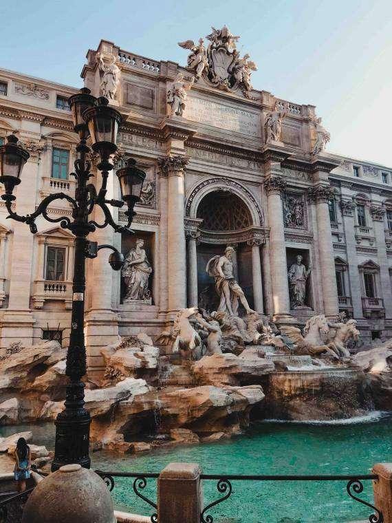 trevi fontein Rome - Kiki