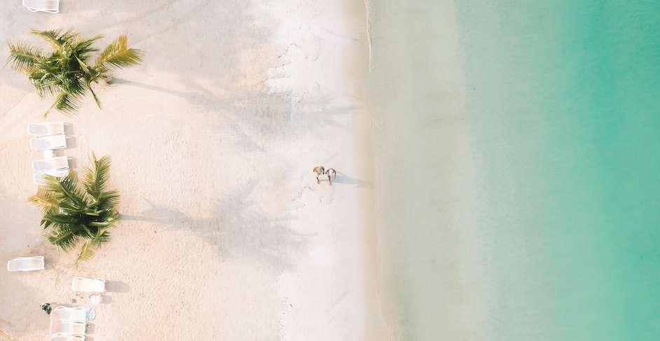 Jamaica white beach