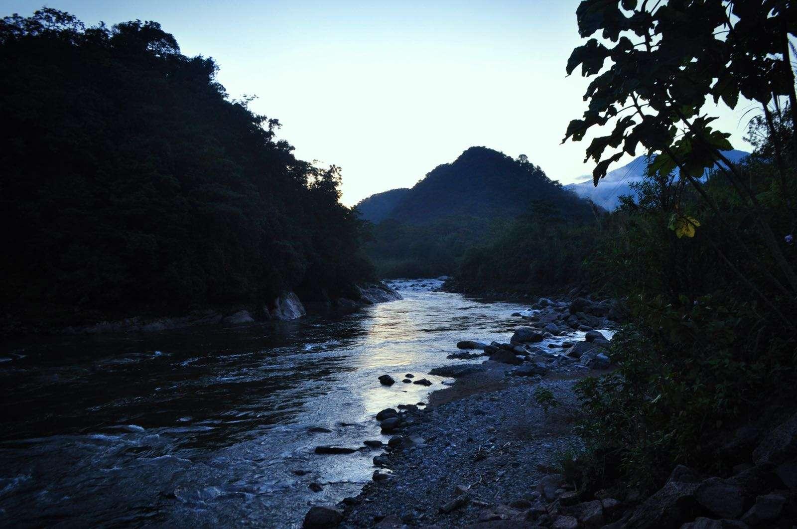 Baños rivier