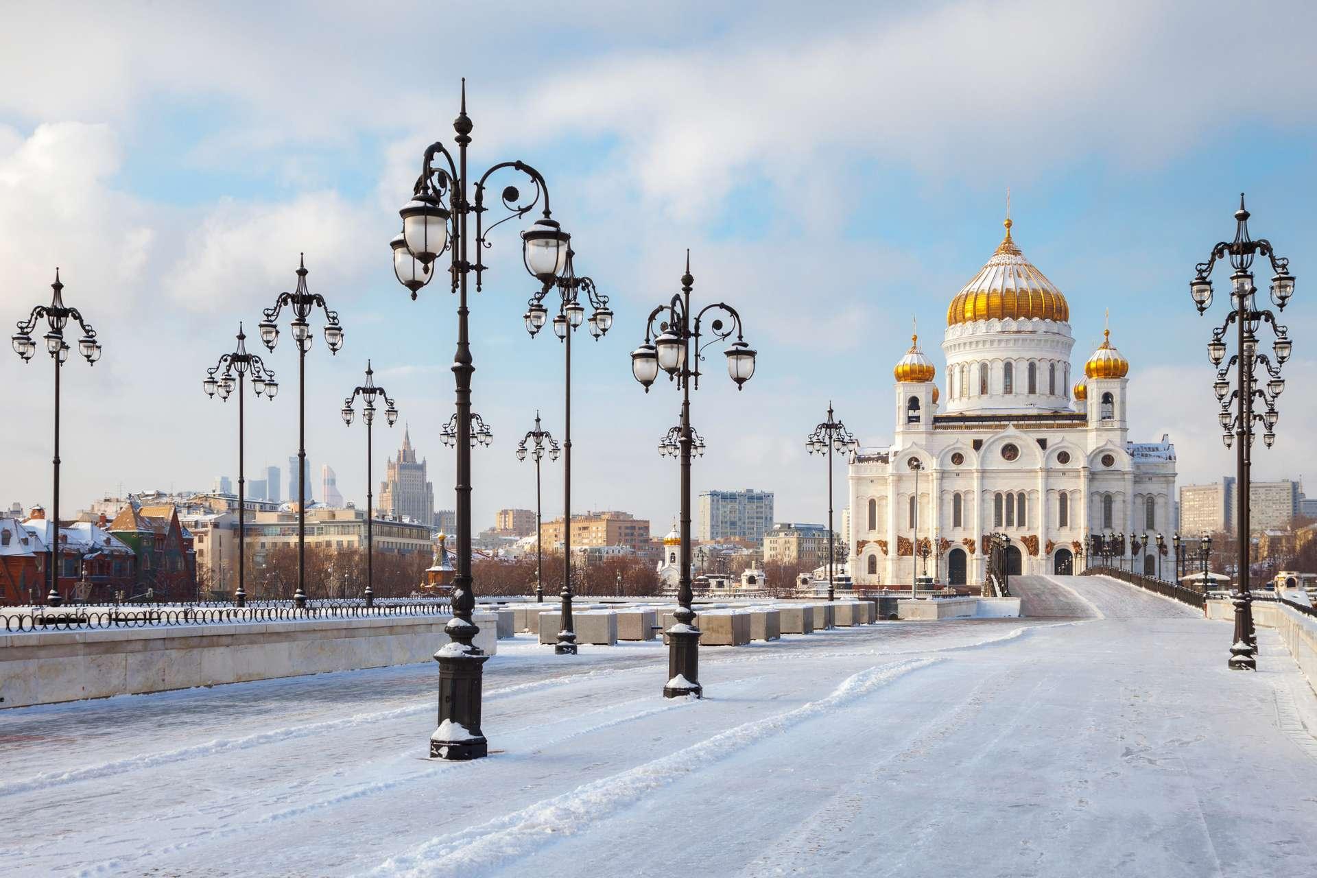 moskou rusland winter sneeuw